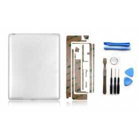 Kit Coque arrière pour iPad 2 WiFi + Outils iPad 2 + Autocollant 3M