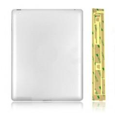 Coque arrière pour iPad 3 WiFi (sans logo Apple) + Autocollant 3M