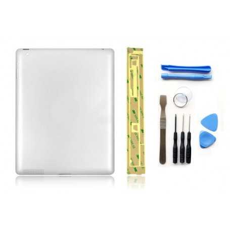 Kit Coque arrière pour iPad 3 WiFi + Outils iPad 3 + Autocollant 3M