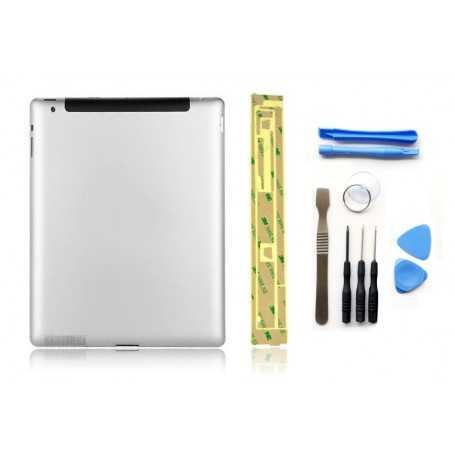 Kit Coque arrière pour iPad 3 (3G) + Outils iPad 3 + Autocollant 3M