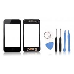 Kit Vitre/Ecran tactile iPod Touch 3 Monté sur Chassis + Outils iPod Touch 3