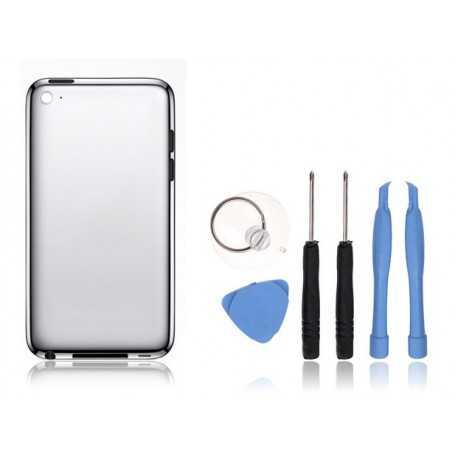 Kit Coque arrière pour iPod Touch 4 : Coque arrière + Outils + Autocollant 3M