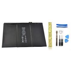 Kit Batterie iPad 3 et 4 (WiFi & 3G) + Outils iPad + Autocollant 3M