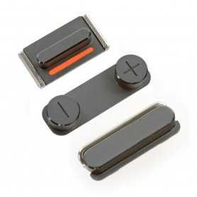 Lot de 3 Boutons pour iPhone 5 : Volume, Vibreur, Power