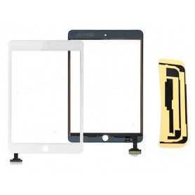 Ecran/Vitre tactile pour iPad Mini & iPad Mini 2 Retina Noir ou Blanc + Autocollant 3M