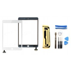 Kit Vitre/Ecran tactile iPad Mini & iPad Mini 2 Retina (Noir ou Blanc) + Outils iPad + Autocollant 3M