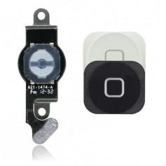 Bouton Home pour iPhone 5 Noir ou Blanc avec nappe