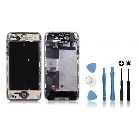 Kit Chassis complet iPhone 4S Noir : Châssis + Outils