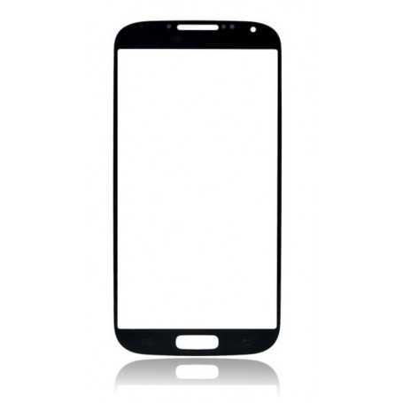 Vitre Samsung Galaxy S4 Noir + Autocollant