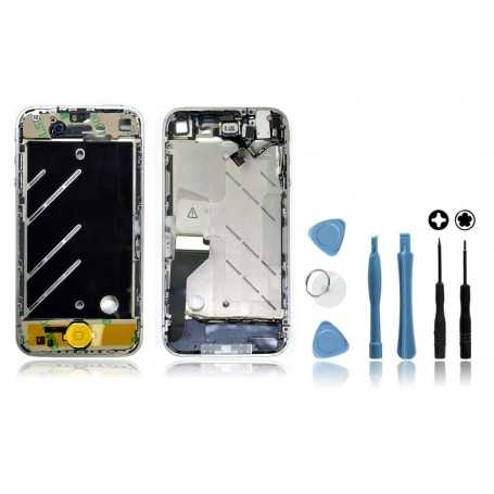 Kit Chassis complet iPhone 4 Blanc : Châssis + Outils