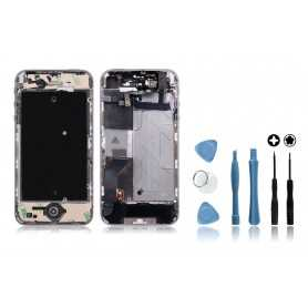 Kit Chassis complet iPhone 4S Blanc : Châssis + Outils