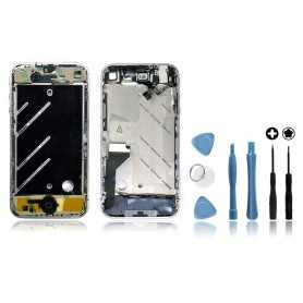 Kit Chassis complet iPhone 4 Noir : Châssis + Outils