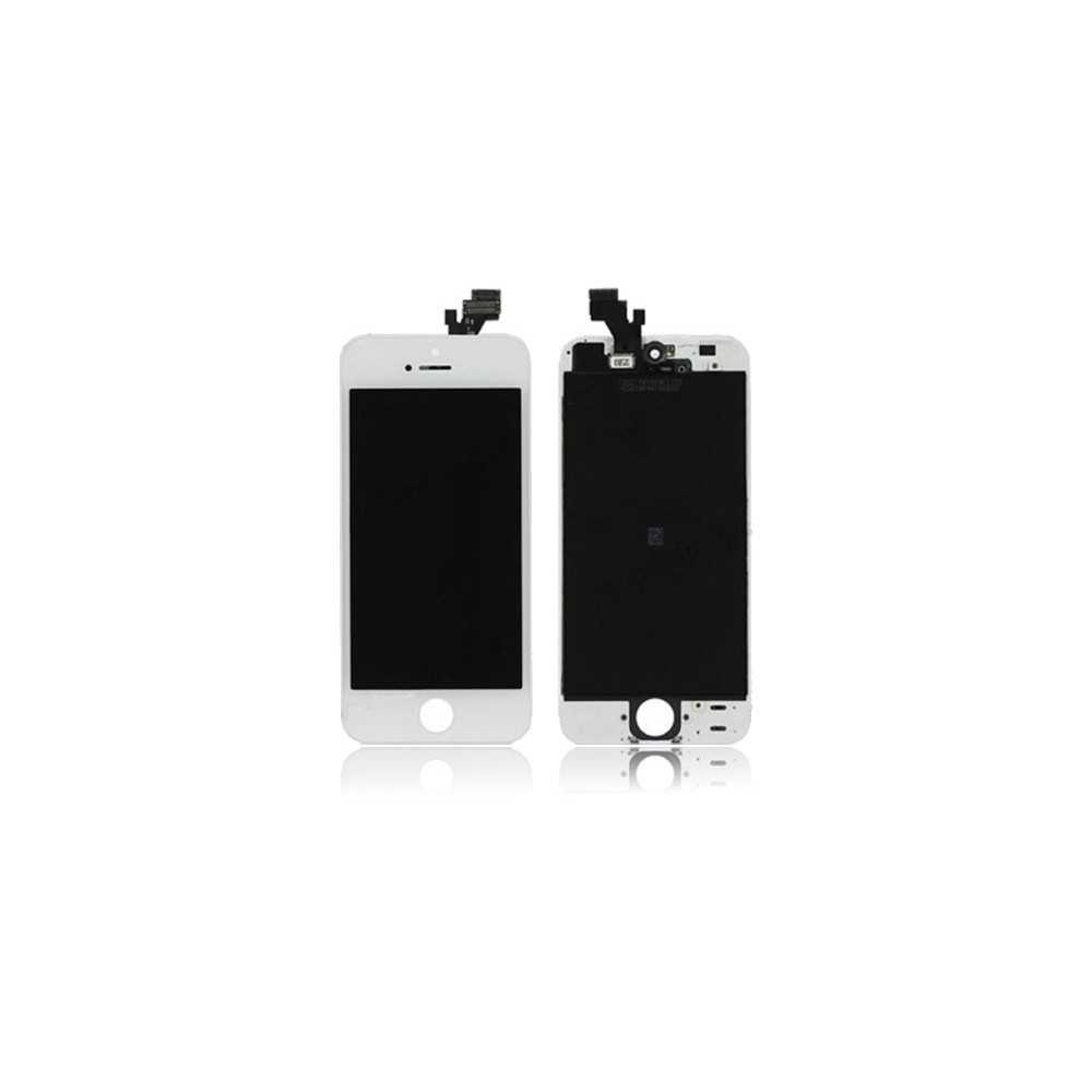 ecran original iphone 5 blanc vitre tactile ecran lcd pour iphone 5. Black Bedroom Furniture Sets. Home Design Ideas