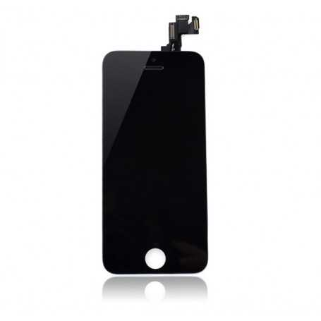 Ecran original complet pour iPhone 5S et SE Noir : avant