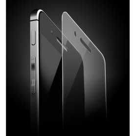 Vitre de protection pour iPhone 4 et 4S en verre trempé