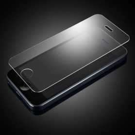 Vitre de protection pour iPhone 5, 5C, 5S, SE en verre trempé