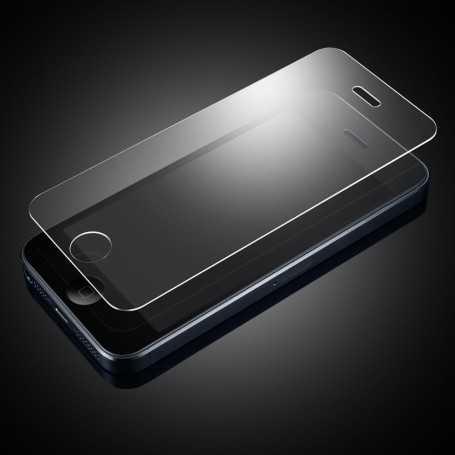 Vitre de protection pour iPhone 5 et 5S en verre trempé