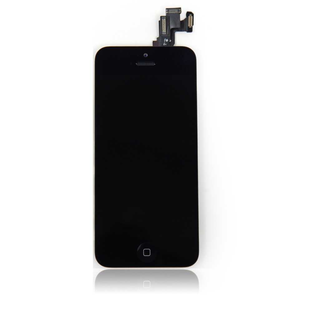 Ecran original iphone 5c noir complet vitre tactile for Ecran photo noir iphone 5